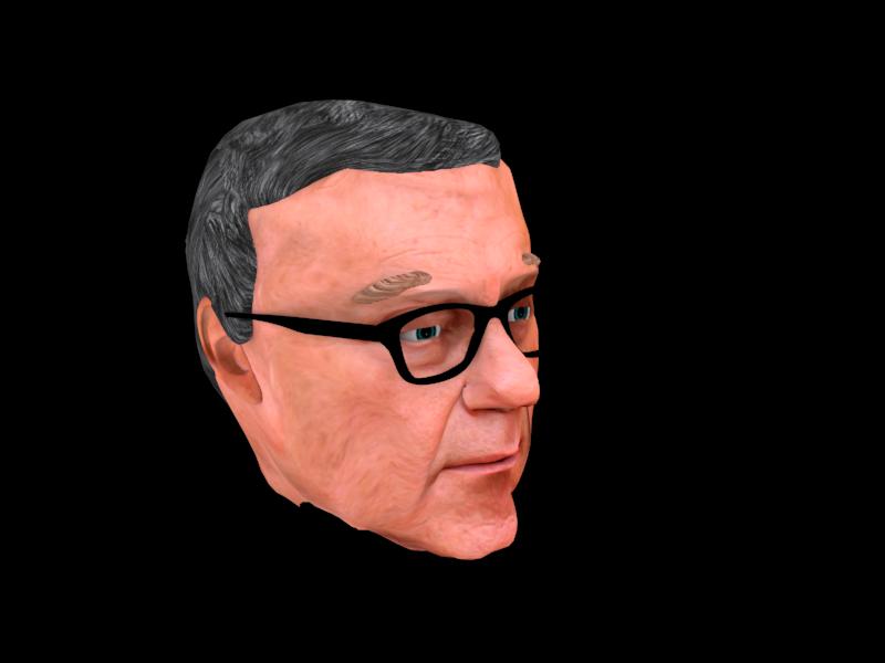 The final textured 3D model
