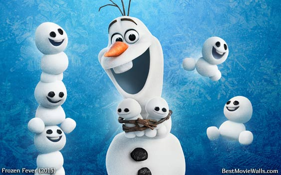 Frozen Fever Mini-Snowmen. Disney is going to make a fortune.